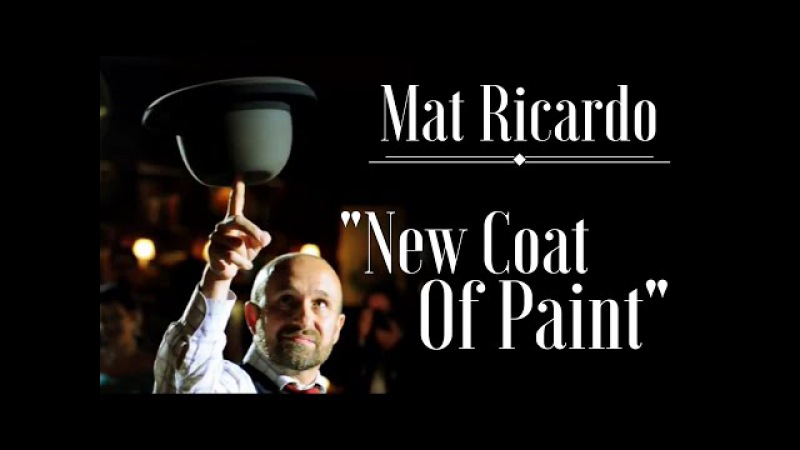 New Coat Of Paint - Mat Ricardo's hat and cane juggling act, live at Scarfes Bar, London