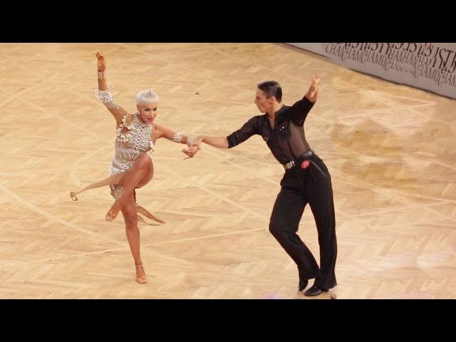 Marius Andrei Balan - Khrystyna Moshenska, GER | 2017 World LAT - AOC Vienna - QF C