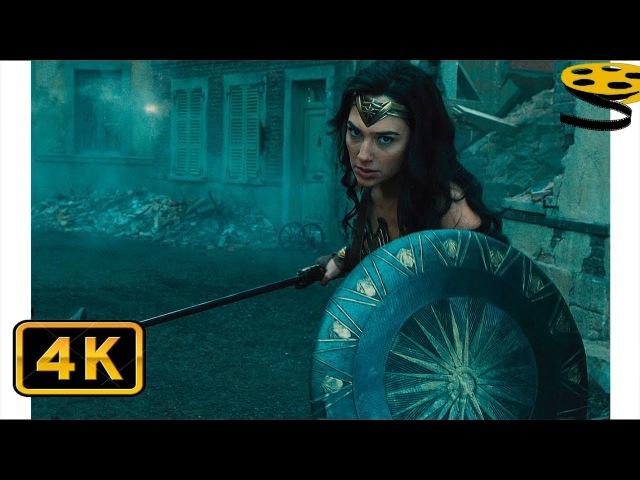 Чудо-Женщина против Солдат | Чудо-женщина | 4K ULTRA HD