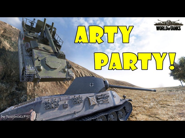 World of Tanks - Funny Moments | ARTY PARTY! 45