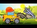 Мультфильмы для Детей про Машинки - Трактор Павлик и Авария в Городе