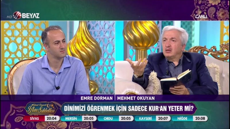 Mehmet Okuyan'la İftar Sohbetleri 5 Haziran