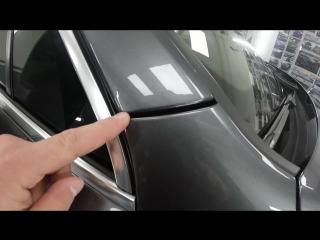 Audi Q7 | Оклейка антигравийной пленкой