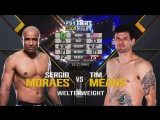 UFC FIGHT NIGHT 125 Sérgio Moraes vs. Tim Means