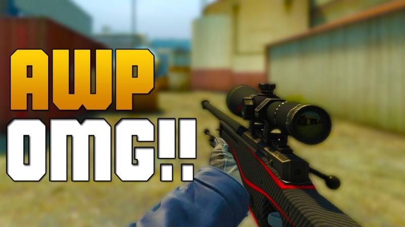 CS:GO Insane AWP kills/ Easy AK-47 ACE