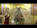 Танец ДЕд мороза и Бабы яги
