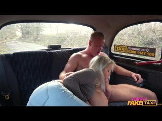 FemaleFakeTaxi - Kathy Anderson - Nympho driver swaps cock for cash [New Porn 2018]