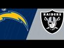 NFL 2017-2018 / Week 06 / 15.10.2017 / Los Angeles Chargers @ Oakland Raiders