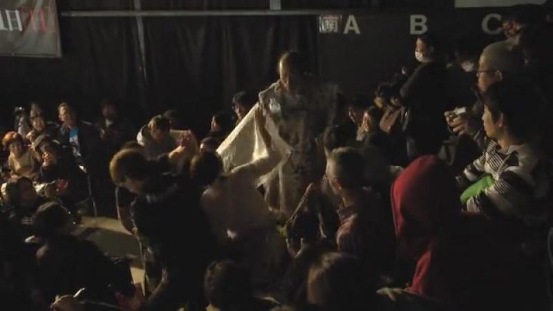 Abdullah Kobayashi, Ryuji Ito, Yuko Miyamoto vs. Minoru Fujita, Brahman Brothers (BJW - Death Match King Death)