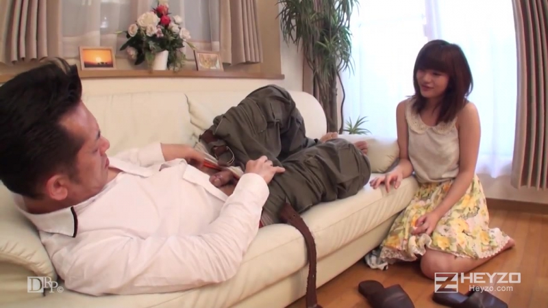 Mai Misato Naive girl excited by a dirty old man forbidden relationship will excite you even