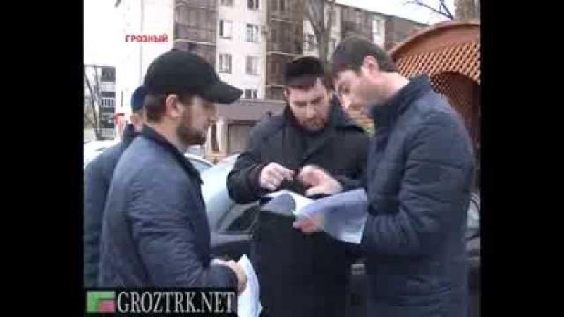 В столице Чечни продолжаются рейды по адресам неплательщиков за услуги ЖКХ