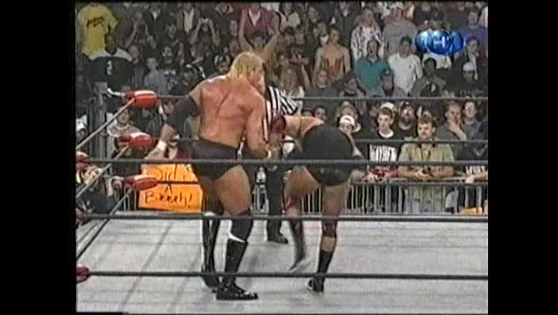 Титаны реслинга на ТНТ и СТС WCW Nitro January 11 1999