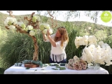 Inspired Floral Design with Beth OReilly_ Driftwood Tree Tablescape