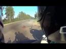 Девушка погибла в ДТП мотоцикл влетел в легковушку