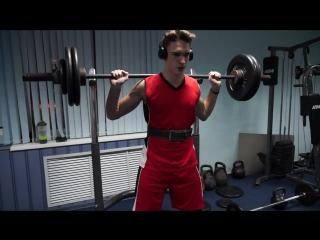 Legs day 2 (pawer + bodybuilding)