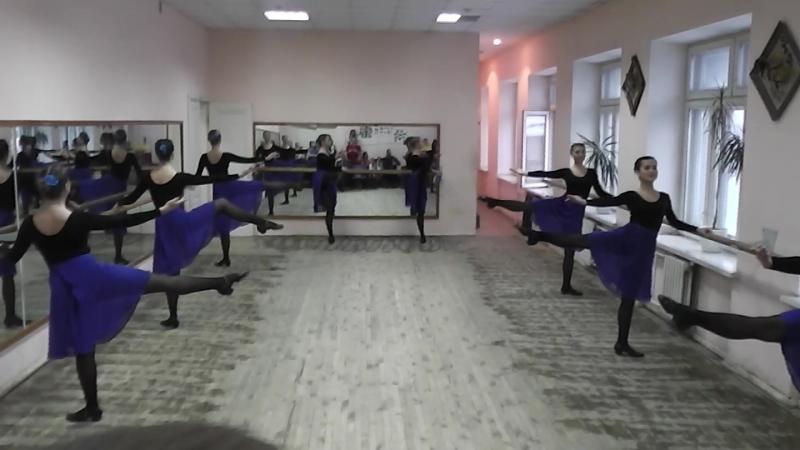 Народно сценический танец Станок РХЛК 161 2 курс 1 семестр