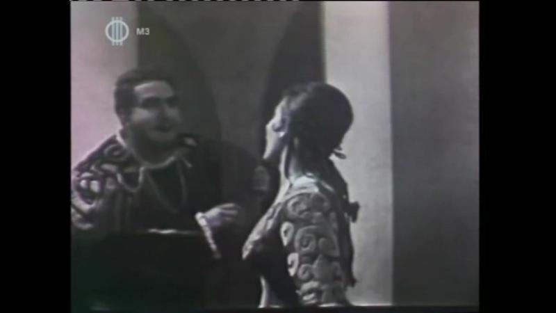 Mozart - Don Giovanni - Là ci darem la mano (György Melis, Margit László) Sung in Hungarian