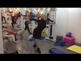 Сведение рук (как накачать грудные мышцы) в кроссовере (1)