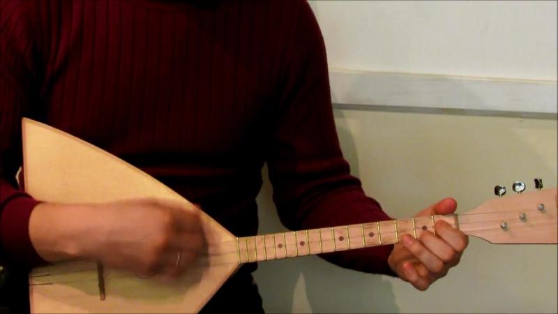 Подгорная скрипка балалайка с Мало Архангельское Пестравского р на Самарской обл