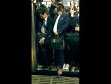 час пик в Токио.