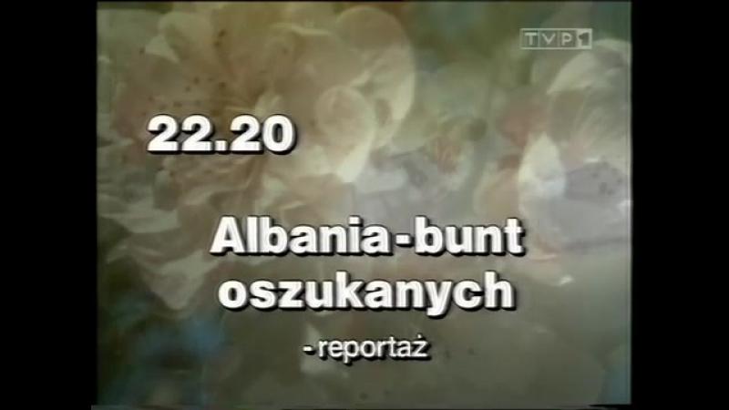 Программа передач и конец эфира (TVP1 [Польша], 23.03.1997)