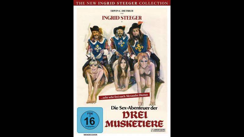 Эротические приключения трех мушкетеров полный ххх фильм