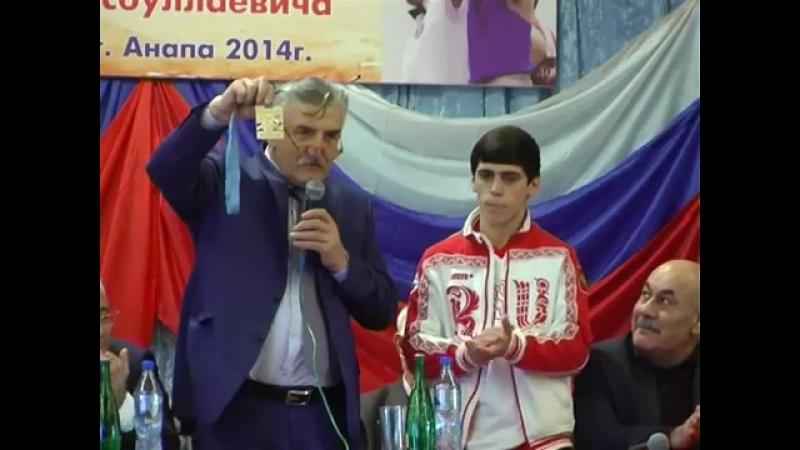 Магомед-Расул Баркаев чемпион по боксу