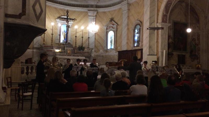 Le souper du Roi. Concert en l'église de Lumio.