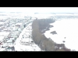 с.Красный Яр зимой 2017, съемка, А. Чапаев, г. Москва