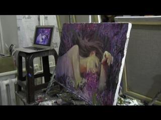 Игорь Сахаров, уроки рисования в Москве, портрет по фото