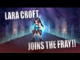 FINAL FANTASY BRAVE EXVIUS x Tomb Raider- Lara Croft Arrives