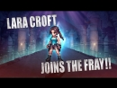 FINAL FANTASY BRAVE EXVIUS x Tomb Raider- Lara Croft Arrives
