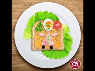 Креативный бутерброд
