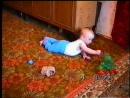 Максим маленький, в гостях у бабушки с дедушкой. 1999 год.