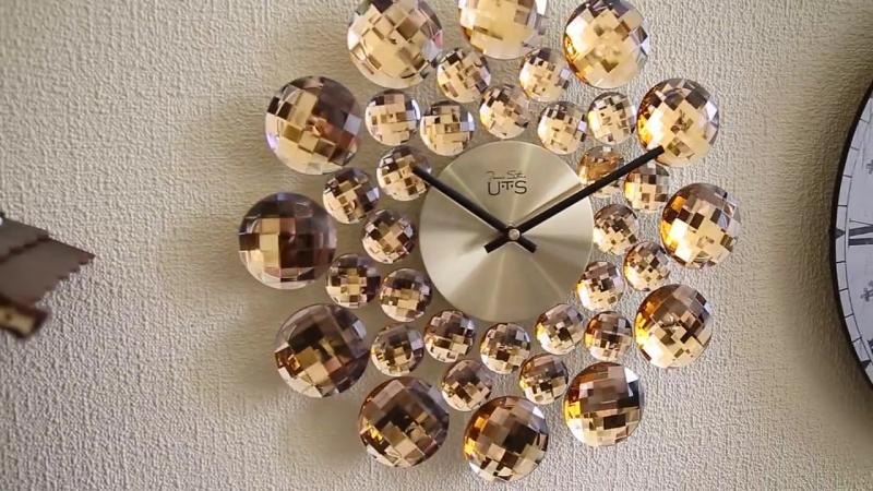 Оригинальные кварцевые настенные часы Tomas Stern 8020