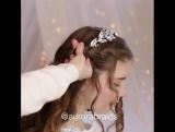 Нежная причёска для девочки
