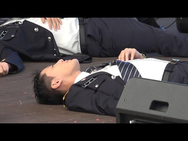 170916 광교 호수공원 마당극장 가족사랑 걷기대회 경기남부경찰 홍보단 Dangerous 김514