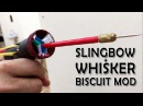 PVC Slingshot bow Whisker biscuit mod and new glass breaker arrows What the hack 19