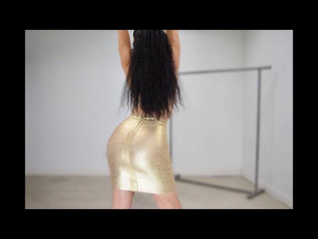 BEST Bandage Dresses Try-On Haul | KISSMISS