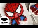 Svk/lakomkavk SPIDERMAN Cake Marvel Party Ideas DIY How to