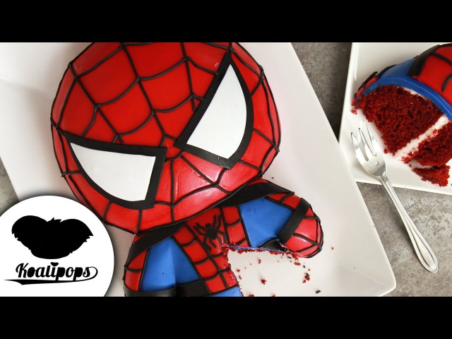 Lakomkavk SPIDERMAN Cake Marvel Party Ideas DIY How to