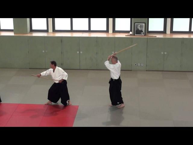 Christian Tissier, 7th Dan Aikikai - A Berlin-Seminar, June 2013, Part XVII