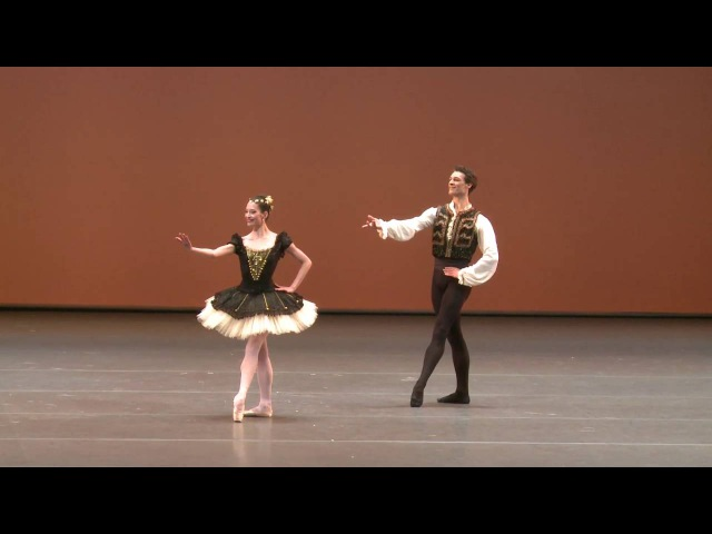 Esmeralda Pas de deux, Hannah O'Neill and Hugo Marchand 2016