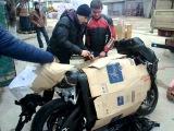 Забираем с почты Suzuki GSX-R 600 K7 #1 (21.12.2013)