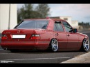 Тюнинг Мерседес W124 Tuning Mercedes Benz w124 3