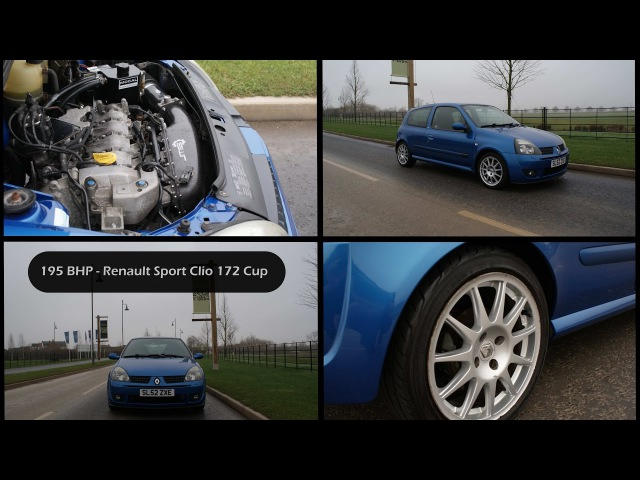 Renault Sport Clio 172 182 ITB or Turbo? - 195bhp JMS RS2 Carbon Intake