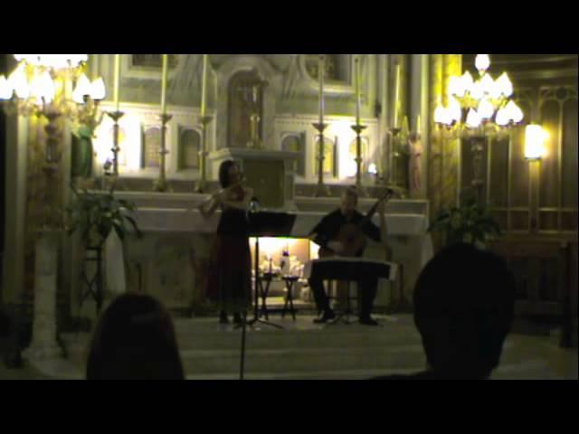 Casco Bay Chusidl/Bacon Street Bulgar Duo Beija-Flor en concert à l'Église Ste- Cécile