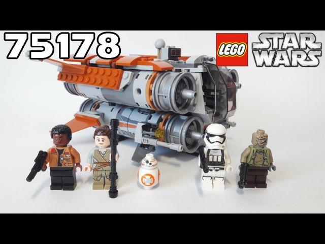 Обзор LEGO Star Wars 75178 Jakku Quadjumper Квадджампер Джакку
