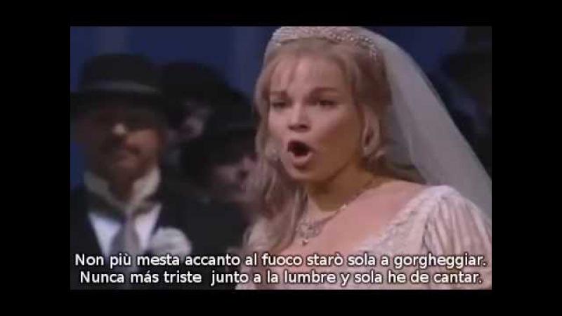 Elīna Garanča - Nacqui all'affanno de La Cenerentola de Rossini (subtítulos español italiano)