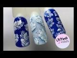 Очень простой зимний дизайн ногтей гель-лаками NeoNail